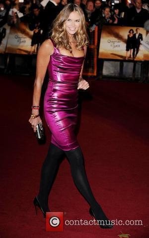 Elle Macpherson  The World premiere of the new James Bond movie 'Quantum of Solace' held at the Odeon Cinema,...