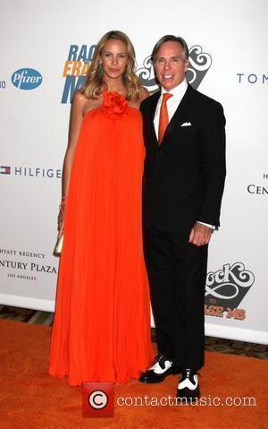 Tommy Hilfiger and Dee Ocleppo Hilfiger The 16th annual Race to erase MS held at the Hyatt Regency century plaza...