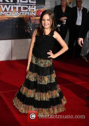 Bailee Madison Premiere of 'Race to Witch Mountain' held at the El Capitan Theatre - Arrivals Los Angeles, California -...