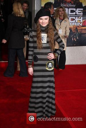 Madeline Carroll  Premiere of 'Race to Witch Mountain' held at the El Capitan Theatre - Arrivals Los Angeles, California...