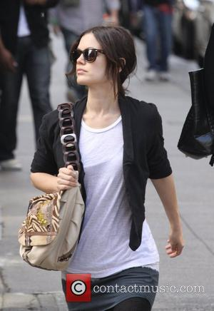 Rachel Bilson shopping at John Derian in SoHo New York City, USA - 02.05.09