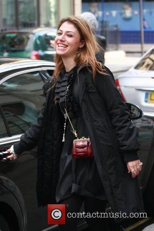 Gabrielle Cilmi leaving Radio 1 London, England - 02.11.08