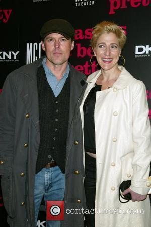 Bill Sage and date Edie Falco