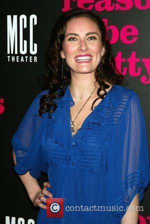 Laura Benanti Opening night of the Broadway play 'Reasons To Be Pretty' after party at the Hudson Terrace - Arrivals...