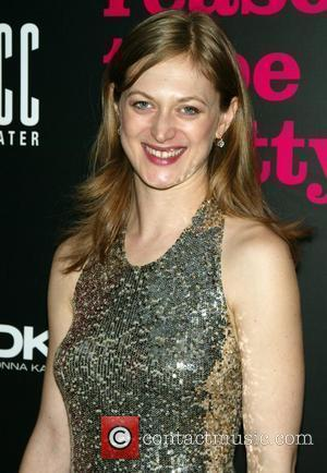 Marin Ireland Opening night of the Broadway play 'Reasons To Be Pretty' after party at the Hudson Terrace - Arrivals...