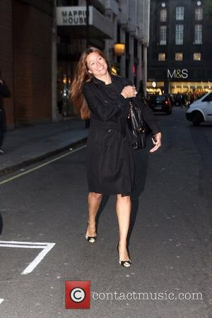 Rebecca Loos seen out in Soho, west London London, England - 28.10.08