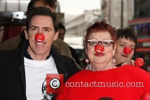 Rob Brydon and Jo Brand