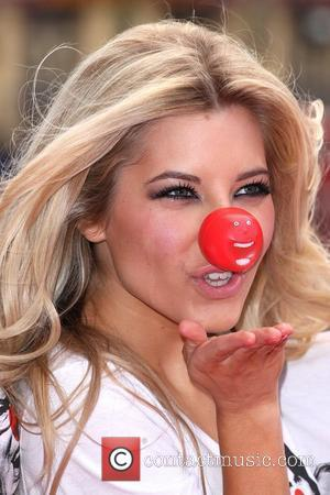 Mollie King from The Saturdays Red Nose Day - press launch held at the Empire Leicester Square. London, England -...
