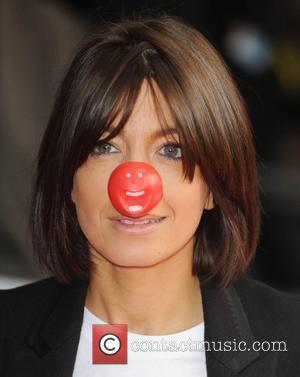 Claudia Winkleman Red Nose Day - press launch held at the Empire Leicester Square. London, England - 29.01.09