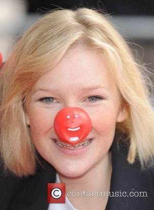 Joanna Page Red Nose Day - press launch held at the Empire Leicester Square. London, England - 29.01.09