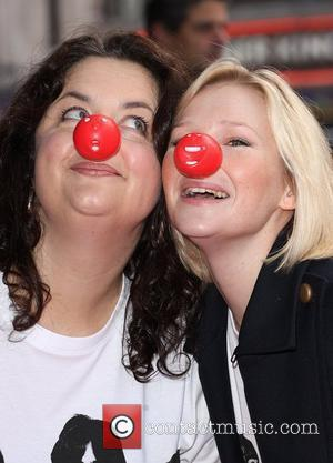 Ruth Jones and Joanna Page Red Nose Day - press launch held at the Empire Leicester Square London, England -...