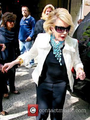 'Celebrity Apprentice' winner Joan Rivers outside ABC...