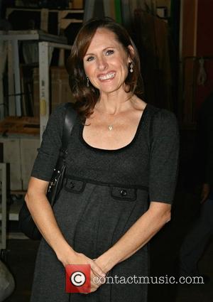Molly Shannon leaving ABC Studios after appearing on 'Live with Regis and Kelly' New York City, USA - 09.10.08