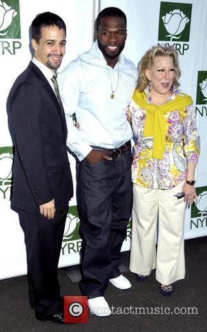 Lin-manuel Miranda and 50 Cent