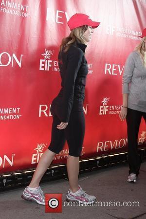 Jessica Biel  12th Annual EIF Revlon Run/Walk For Women at Times Square  New York City, USA - 02.05.09