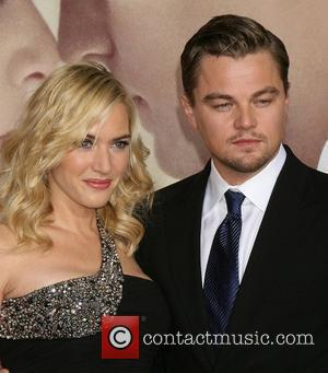 Kate Winslet and Leonardo DiCaprio  The World Premiere of 'Revolutionary Road' held at the Mann's Village Theater - Arrivals...