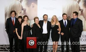 Michael Shannon, Kate Winslet, Leonardo Dicaprio and Sam Mendes