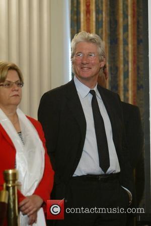 Richard Gere and Congresswoman Ileana Ros-lehtinen
