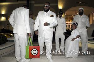 Rick Ross and family