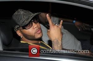 Flo Rida Maybach Music hosts a birthday party for Rick Ross at club Karu&Y - departures Miami, Florida - 28.01.09