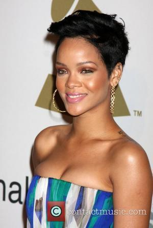 Rihanna . Clive Davis And The Recording Academy Present The Annual