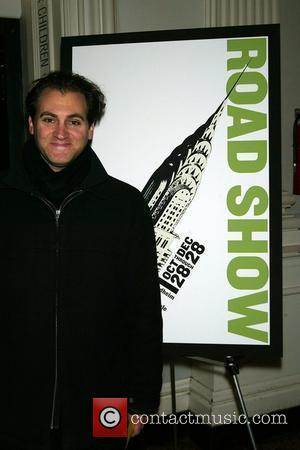 Michael Stuhlbarg opening night of the new musical 'Road Show' at The Public Theatre New York City, USA - 18.11.08