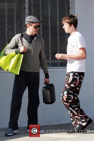 Robert Downey Jr and Indio Falconer Downey