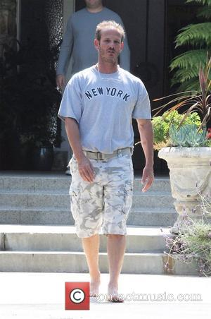 Peter Berg outside his house to greet actor Robert Pattinson. Los Angeles, California, USA - 10.05.09