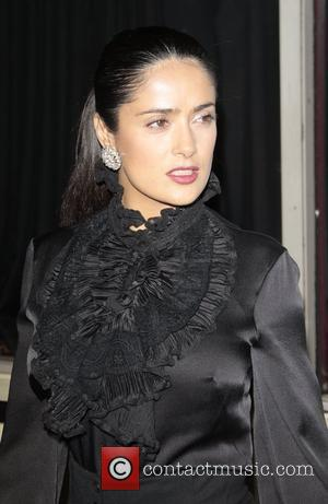 Salma Hayek, Hollywood Roosevelt Hotel