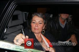 Roseanne Barr  signs autographs for waiting fans after her show at the Leicester Square Theatre. London, England - 22.10.08