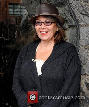 Roseanne Barr announces her stand-up show at Tripod this weekend. Dublin, Ireland - 23.10.08.