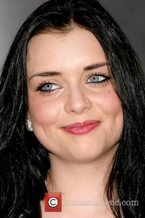 Shona McGarty Royal Television Society (RTS) Awards held at the Grosvenor House Hotel London, England - 17.03.09
