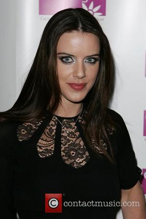 Michelle Ryan Ruby Ball to benefit CLIC Sargent held at The Brewery London, England - 21.11.08