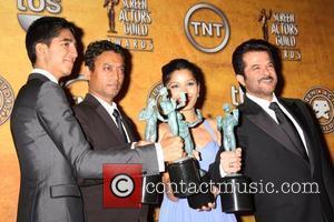 Freida Pinto, Dev Patel, Anil Kapoor and Irrfan Khan