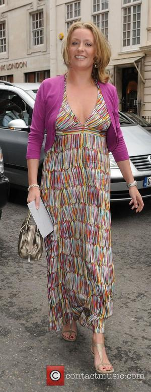 Laurie Brett at Samantha Janus' wedding held at Claridge's London, England - 17.05.09