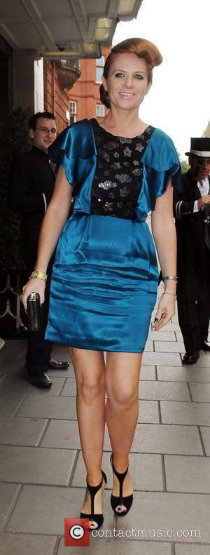 Patsy Palmer at Samantha Janus' wedding held at Claridge's London, England - 17.05.09