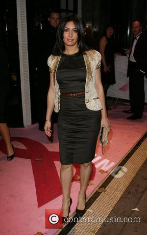 Laila Rouass  Samsung Breast Cancer Charity Dinner held at Park Lane Hotel London, England - 05.11.08