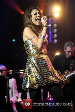 Gabriella Cilmi performs at BBC Electric Proms Saturday Night Fever party at the Roundhouse London, England - 25.10.08