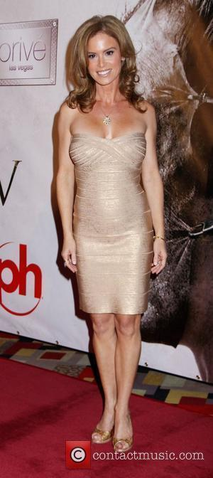 Betsy Russell arrives at the 'Saw V' Premiere - Arrivals at Planet Hollywood Hotel and Casino Las Vegas, Nevada -...