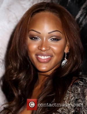 Meagan Good arrives at the 'Saw V' Premiere - Arrivals at Planet Hollywood Hotel and Casino Las Vegas, Nevada -...