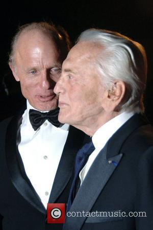 Ed Harris and Kirk Douglas