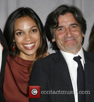 Rosario Dawson and Griffin Dunne