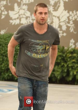 Scott Speedman  on the movie set of 'Funny People' in West Hollywood Los Angeles, California - 04.12.08
