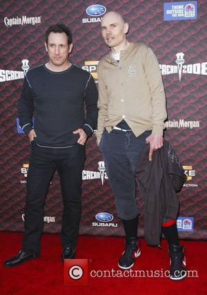 Jimmy Chamberlin and Billy Corgan