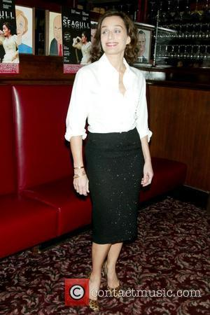 Kristin Scott Thomas Opening Night afterparty of 'The Seagull' held at Sardi's Restaurant New York City, USA - 02.10.08