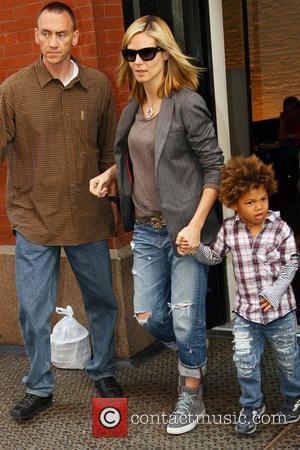 Heidi Klum and Her Son Henry Samuel