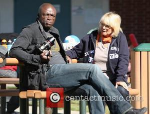 Seal, Erna Klum Seal takes his children to a soccer practice at a park in West Hollywood Los Angeles, California...