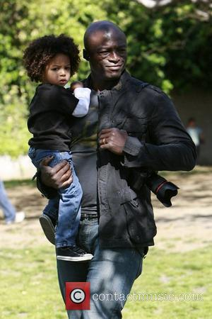Seal takes his children to a soccer practice at a park in West Hollywood Los Angeles, California - 28.03.09