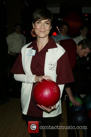 Zoe McLellan Second Stage Theatre's All-Star Bowling Classic Fundraiser held at Lucky Strike Lanes and Lounge New York City, USA...