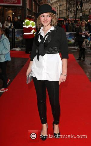 Melissa Suffield UK charity premiere of The Secret of Moonacre held at the Vue cinema - arrivals London, England -...